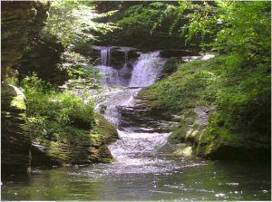 Otter Falls swimming hole